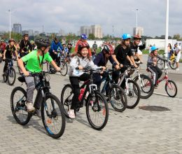 АВТОТОР поддержал благотворительный велозаезд «Делай на вело доброе дело»