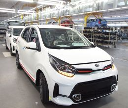 Завод АВТОТОР приступил к производству обновленного Kia Picanto