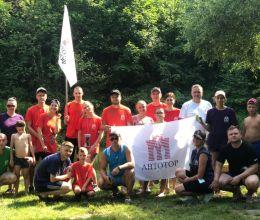 Молодежный совет АВТОТОР организовал корпоративный заезд по велобайдарочному маршруту