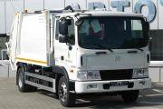 В Калининграде выпустили первый мусоровоз Hyundai