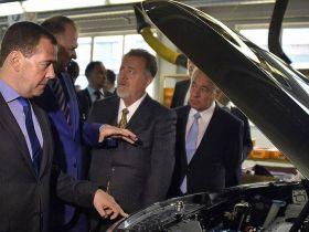 Дмитрий Медведев: АВТОТОР многое делает для повышения конкурентоспособности российской автомобильной промышленности