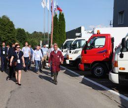 АВТОТОР посетили корпоративные клиенты Hyundai Truck & Bus