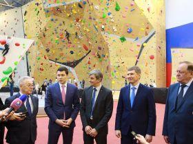 На «АВТОТОР-Арене» открылся самый крупный в России скалодромный комплекс