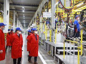 Завод АВТОТОР посетил Президент региональной штаб-квартиры Хендэ Мотор Россия и СНГ господин О Иккюн.