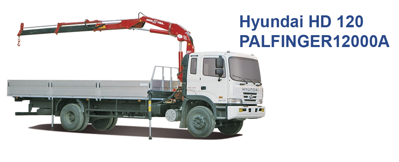 Hyundai HD 120 PALFINGER12000A